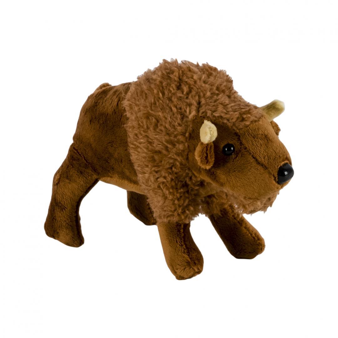 Pluș bizon, 18 cm