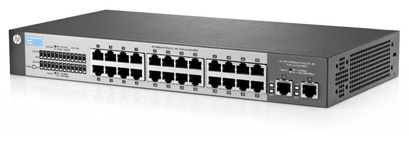 Switch HP 1410 24 porturi FastEthernet 2 porturi Gigabit rackab