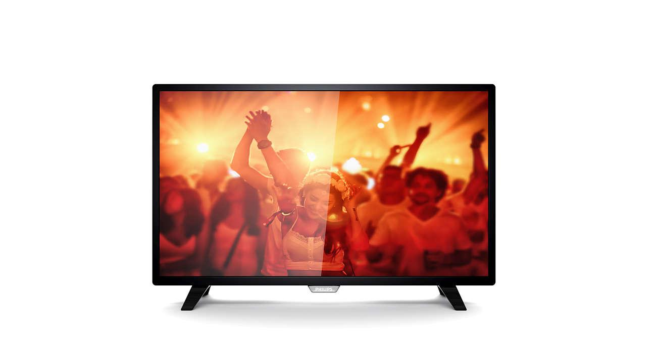 "Televizor, PHILIPS, 43PFS4001/12, LED, 43"", FHD, 1920*1080, RMS"