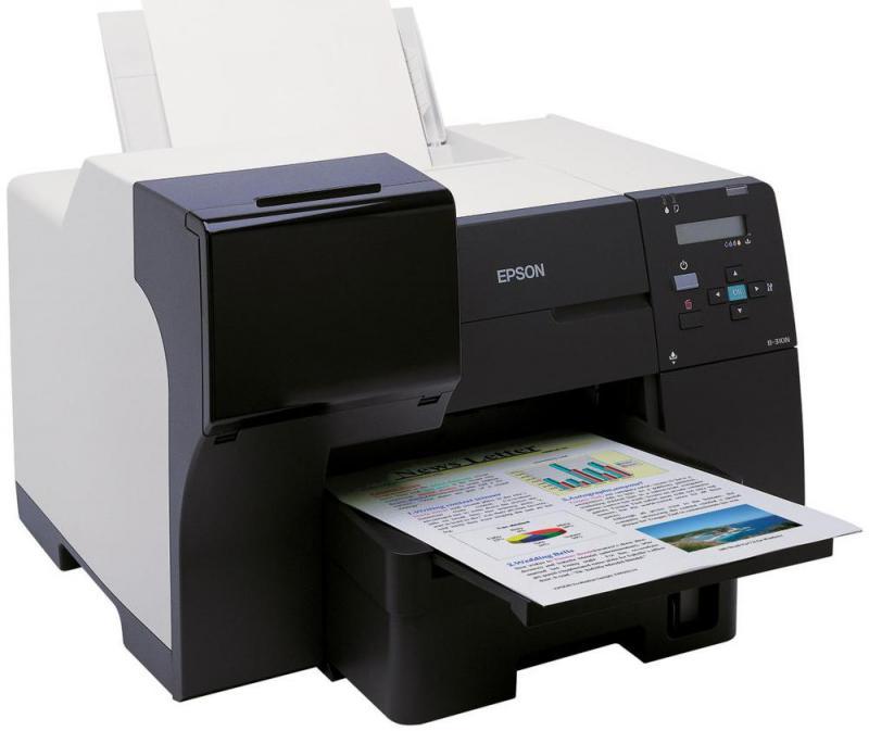 Imprimanta inkjet color Epson B310N, dimensiune A4, viteza max