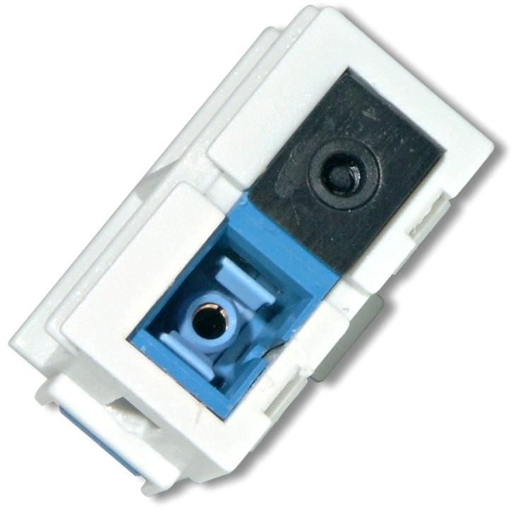 Adaptor Nexans LANmark duplex conectori SC Snap-in pentru fibra