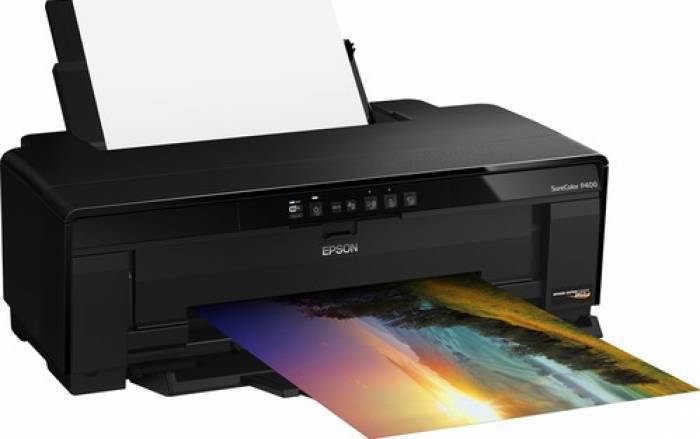 Imprimanta inkjet color Epson Surecolor P400, dimensiune A3+, v