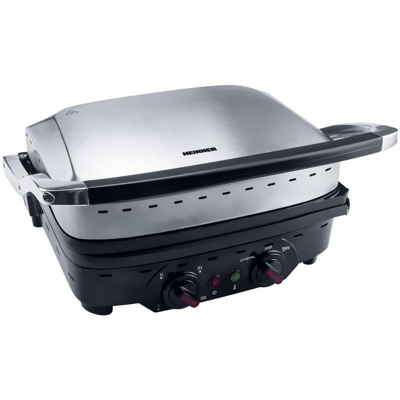 Gratar electric Heinner HEG-1800XMC, putere: 1800W, 2 moduri de
