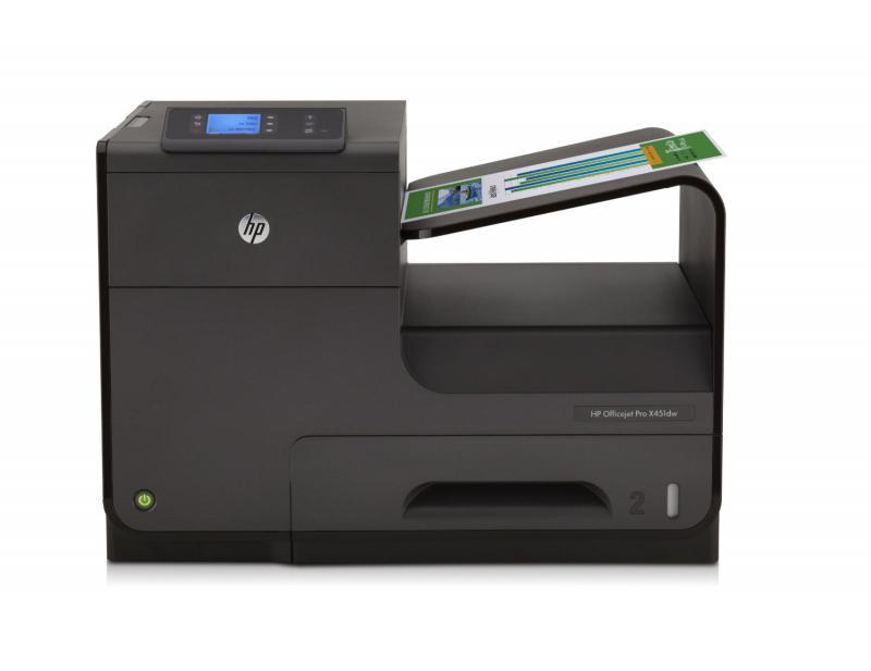 Imprimanta inkjet color HP Officejet Pro X451dw, dimensiune A4,