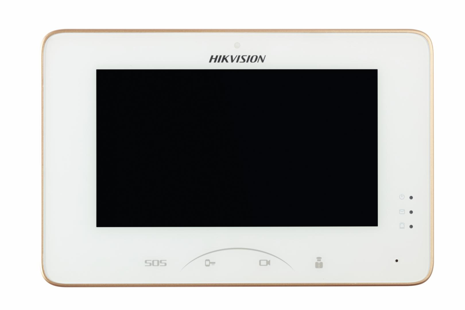 Monitor videointerfon color Hikvision DS-KH8300-T, 7-Inch Color
