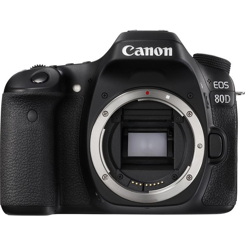 """Camera foto Canon EOS-80D BODY Wifi Black, 24MP, CMOS,3"""" TFT fu"""