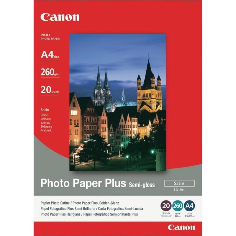 Hartie foto Canon PP-201 13x18, dimensiune 13x18 cm, 20 coli, t