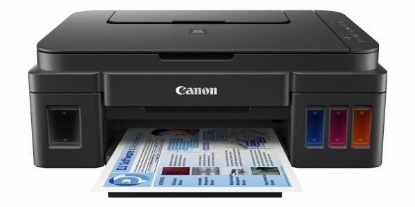 Imprimanta inkjet color CISS Canon G1400, dimensiune A4, viteza