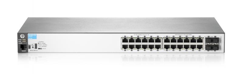 Switch HP 2530 24 porturi Gigabit 4 porturi SFP rackabil Layer
