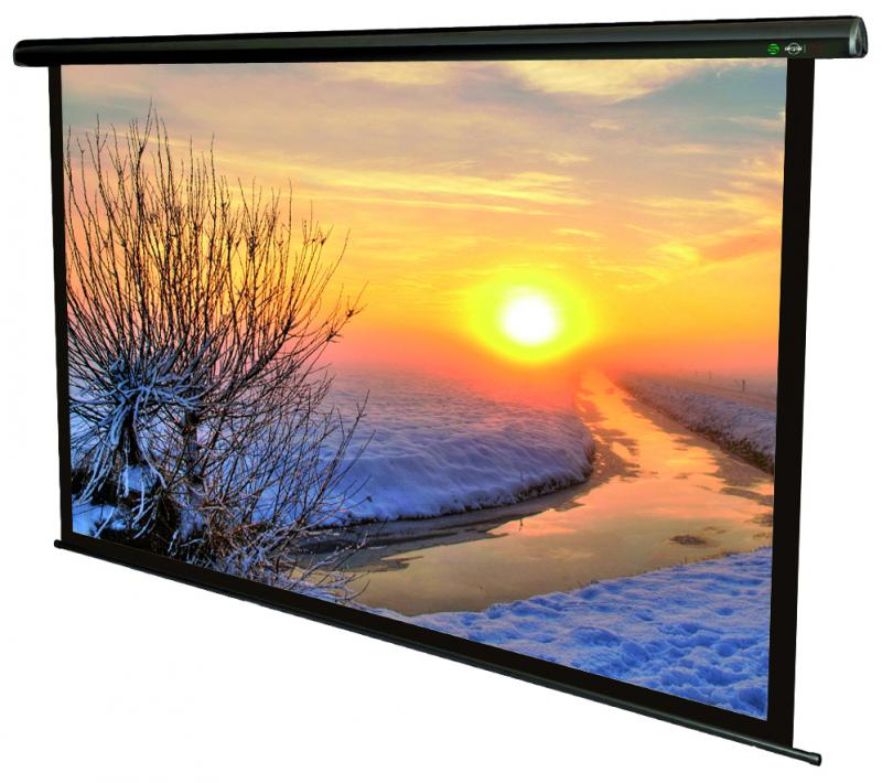 Ecran de proiectie electric Sopar Lorenzo, 160 x 160cm, Telecom