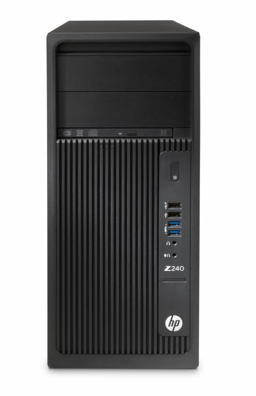 Desktop Workstation HP Z240 Tower, Intel Core i7-6700 (3,4GHz,