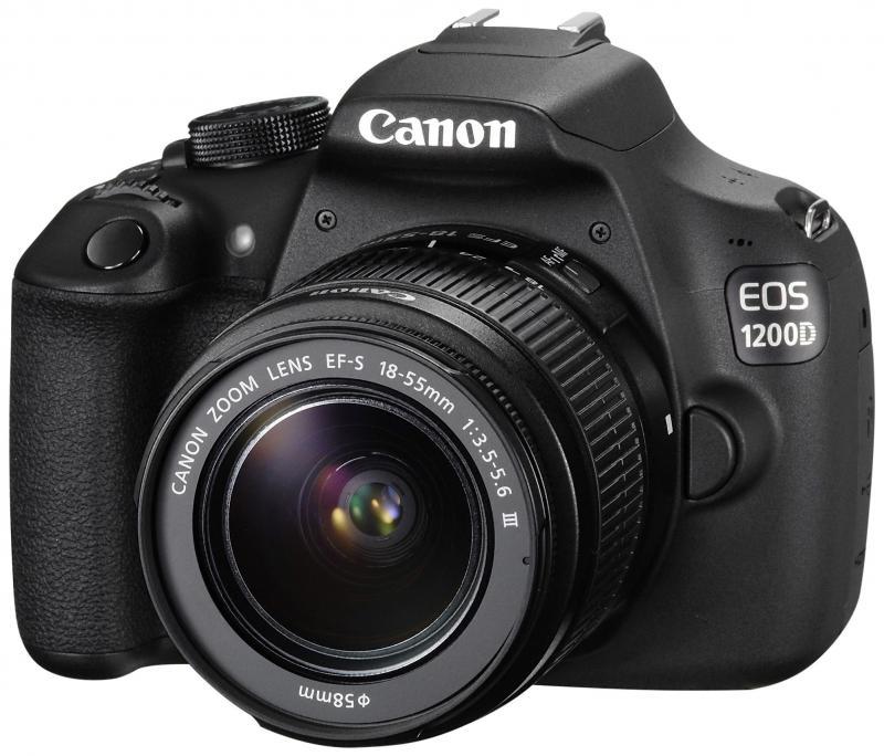 Camera foto Canon DSLR EOS 1200D + EF-S 18-55 DC (farastabiliza