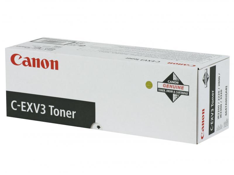 Toner Canon EXV3, black, capacitate 15000 pagini, pentru IR22/2