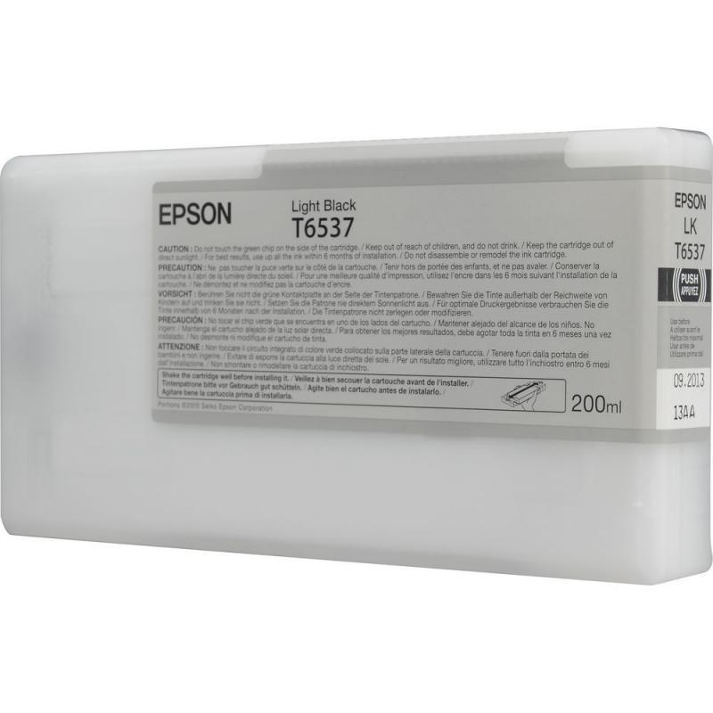 Cartus cerneala Epson T653700, light black, capacitate 200ml, p