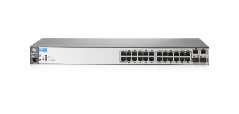 Switch HP 2620 24 porturi FastEthernet 2 porturi Gigabit rackab