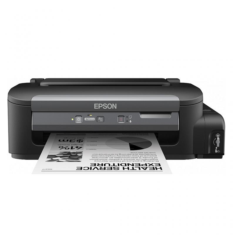 Imprimanta inkjet mono CISS Epson M100, dimensiune A4, viteza m