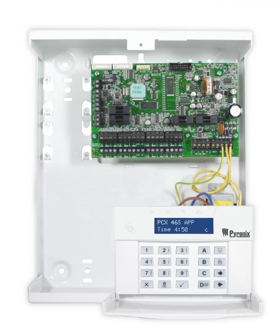 Hybrid Controll Panel Pyronix FPPCX46S-APP/AM; 46 inputs; 32 Wi
