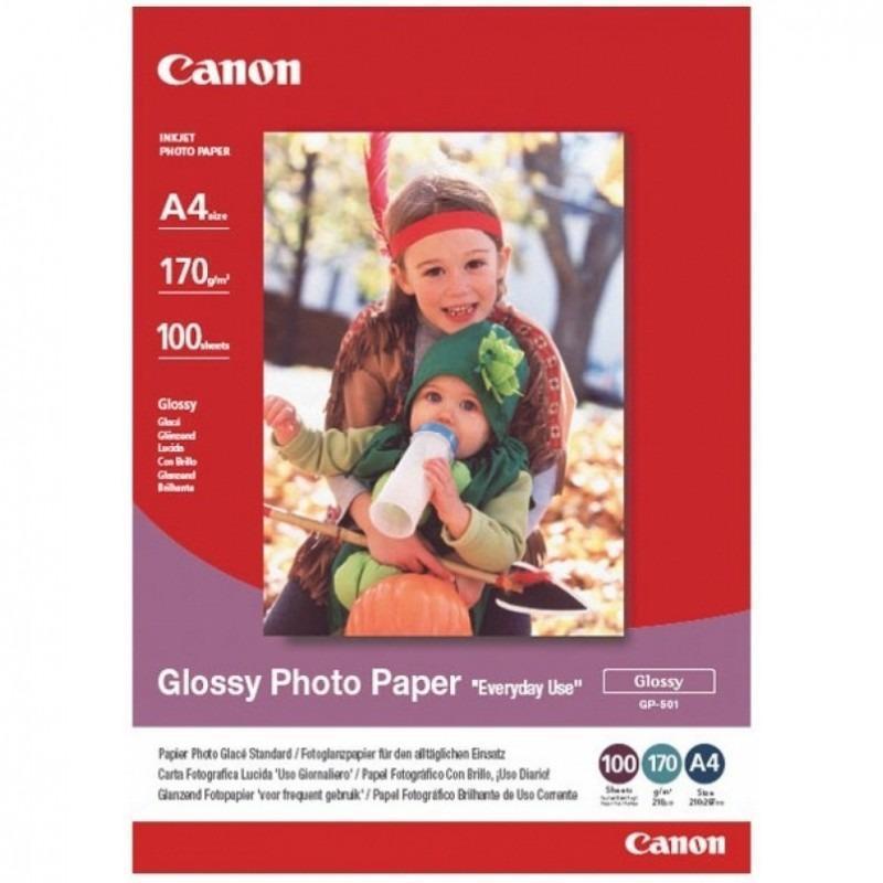 Hartie foto Canon GP-501 A4, dimensiune A4, 100 coli, tip gloss