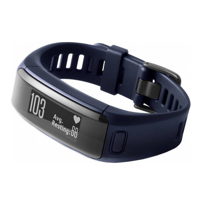 Bratara electronica fitness Garmin Vivosmart HR, display digita