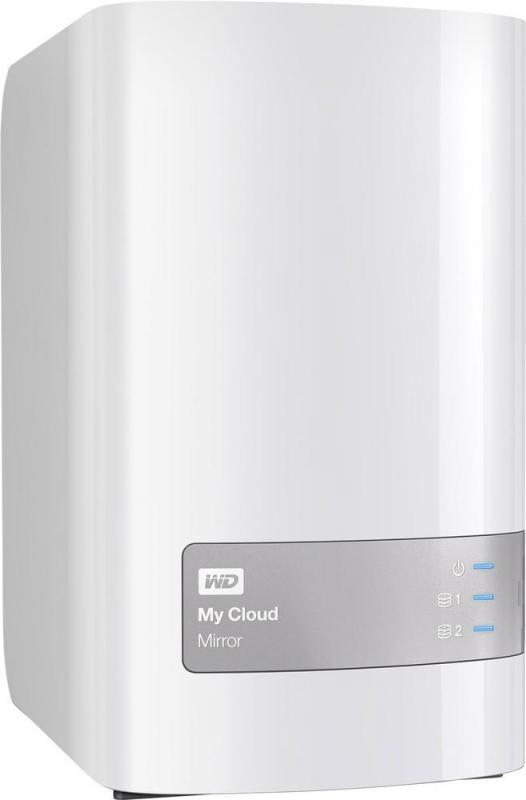 NAS WD, Mirror Personal Cloud Storage G2, 2 Bay, 16TB, Gigabit