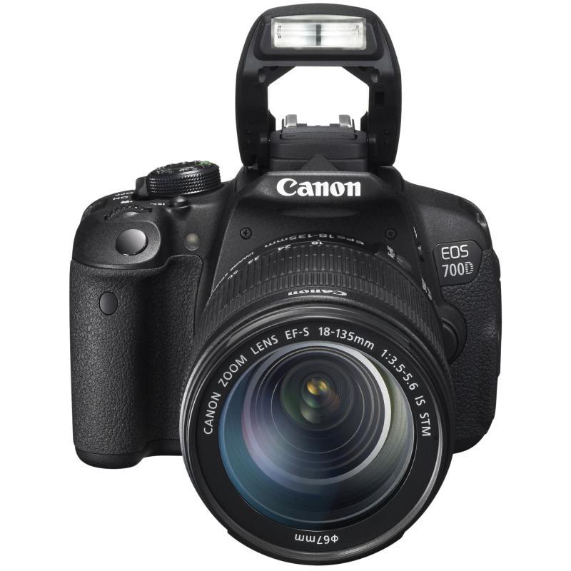 Camera foto Canon DSLR EOS 700D + EF-S 18-135 IS STM Black, 18