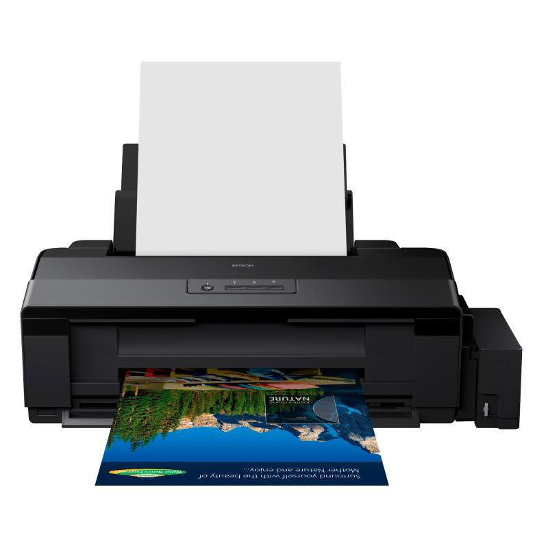 Imprimanta inkjet color CISS Epson L1800, dimensiune A3+, vitez