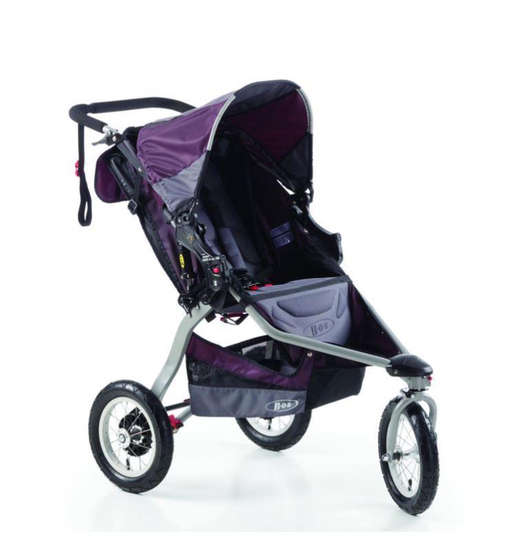Britax Stroller Revolution Ce BOB Plum