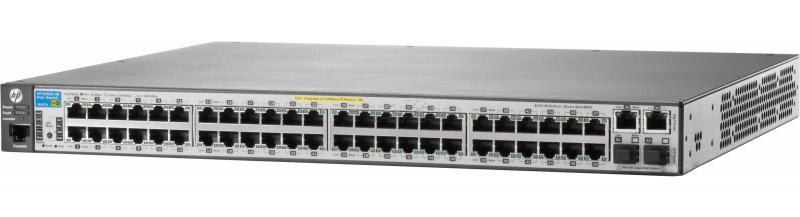 Switch HP 2620 48 porturi FastEthernet 2 porturi combo rackabil