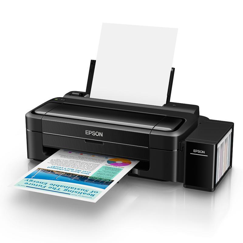 Imprimanta inkjet color CISS Epson L310, dimensiune A4, viteza