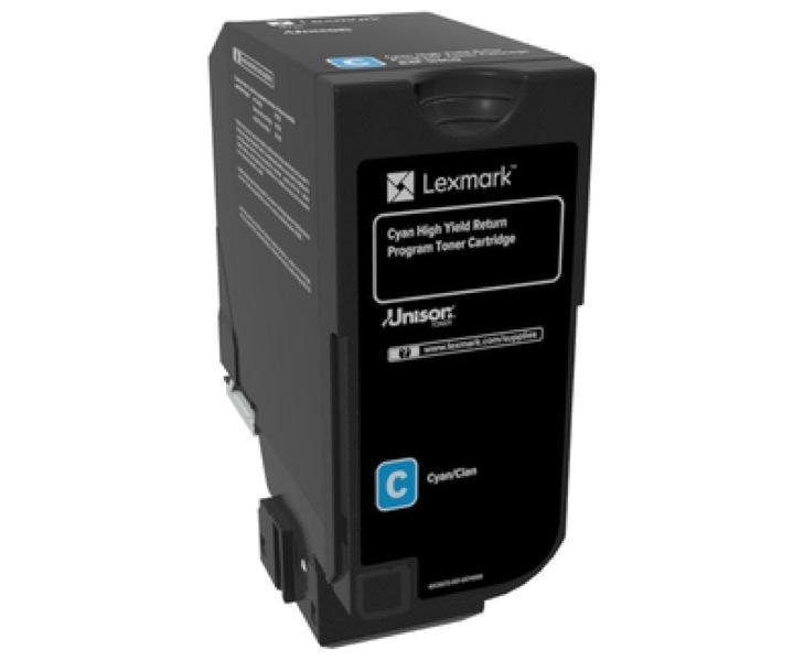 Cartus toner Lexmark 84C2HC0, return program, cyan, 16k ,compat