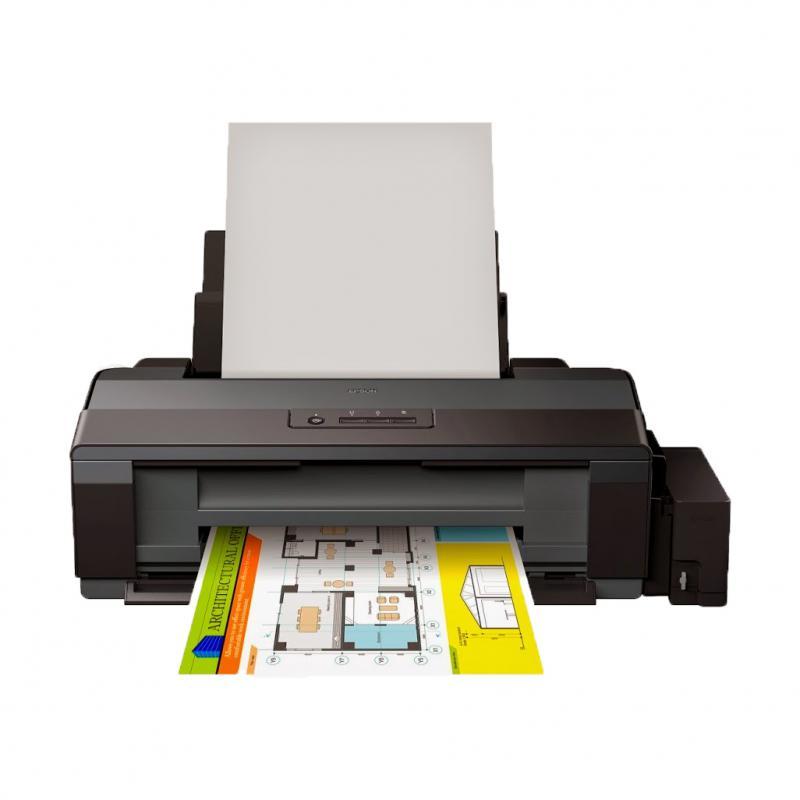 Imprimanta inkjet color CISS Epson L1300, dimensiune A3, viteza