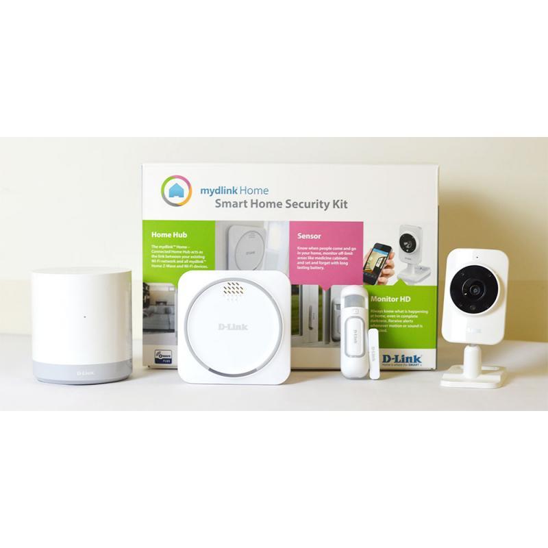 Smart Home HD Starter Kit D-Link, DCH-107KT, contine: DCH-G020
