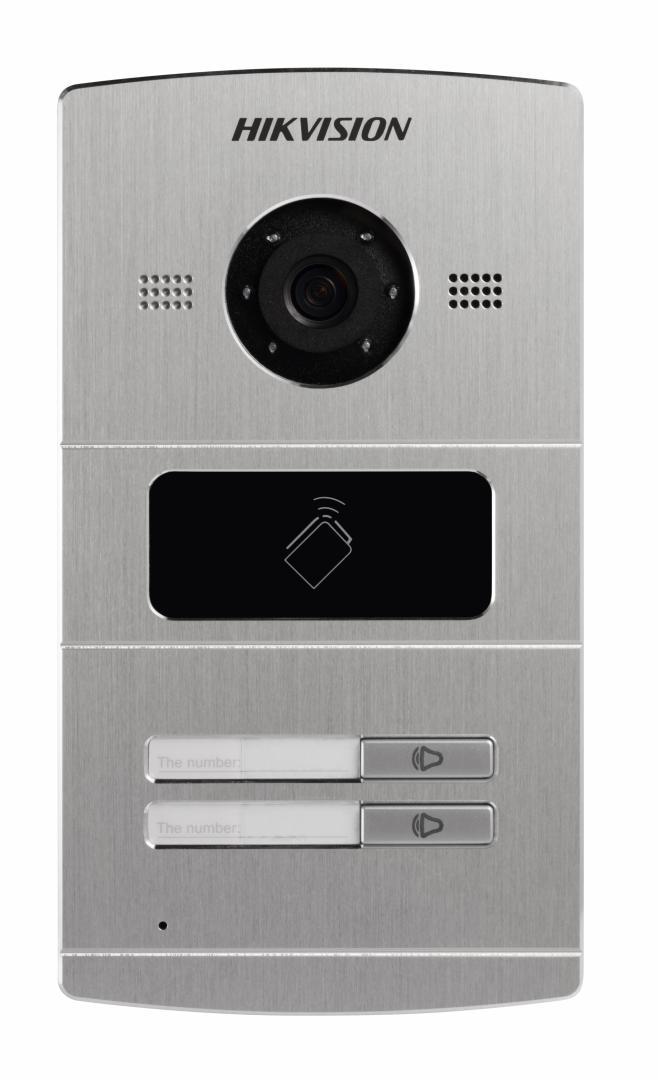 Post videointerfon color Hikvision DS-KV8202-IM, 1.3 MP Villa