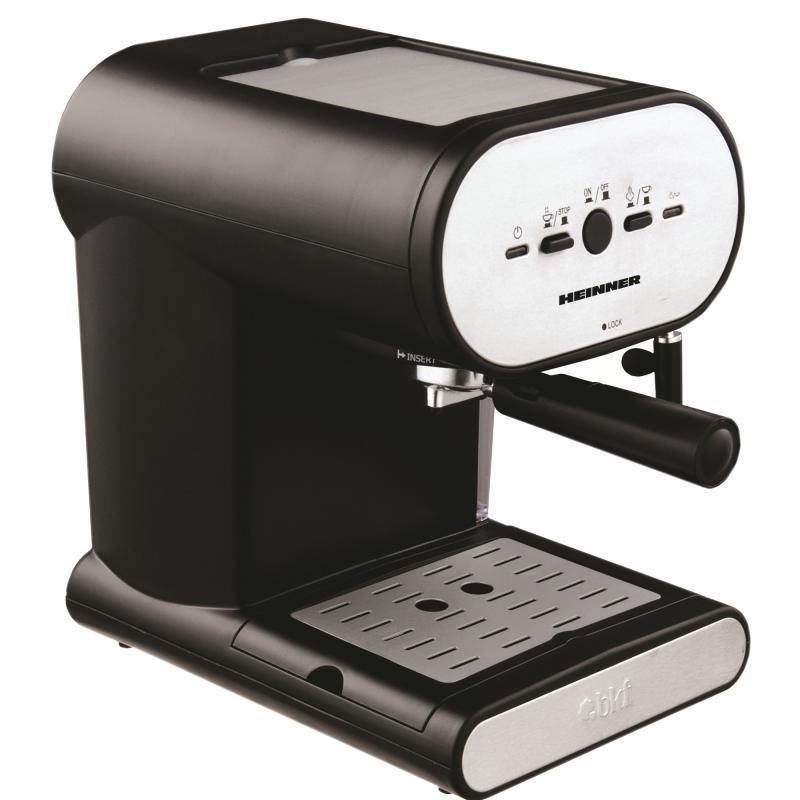 Espressor Heinner Soft Cream HEM-250, putere: 1050W, capacitate