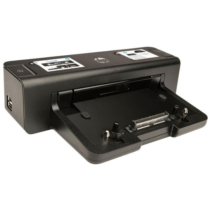 Docking Station HP 2012 90W, Porturi: 4 x USB 3.0, 1 x RJ-45,