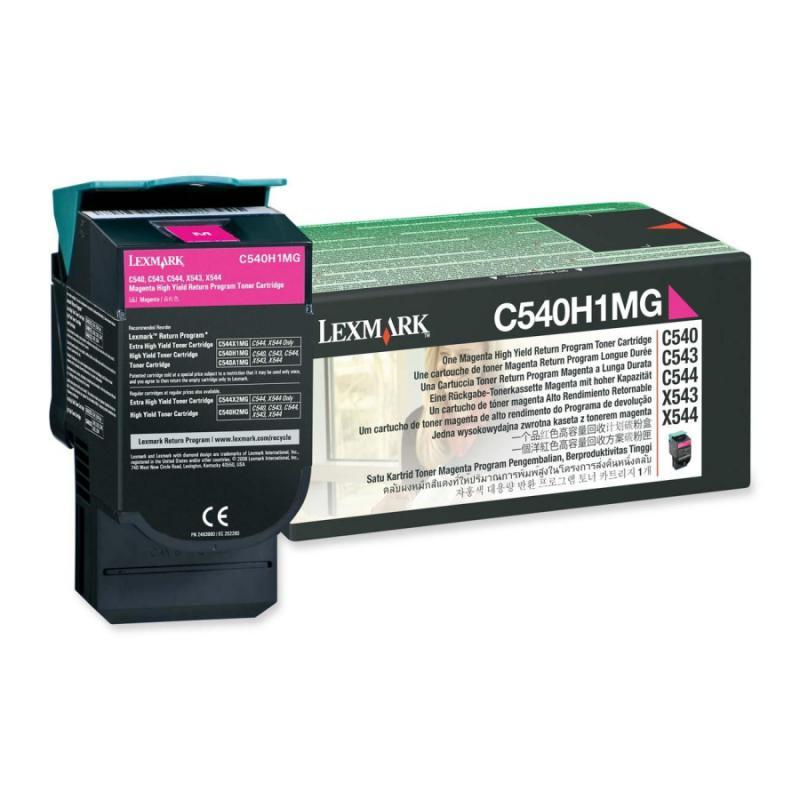 Cartus toner Lexmark C540H1MG, magenta, 2 k, C540n , C543dn , C