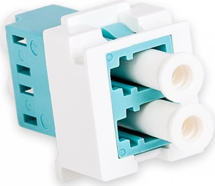 Adaptor Nexans LANmark-OF duplex LC Snap-In pentru fibra multi-
