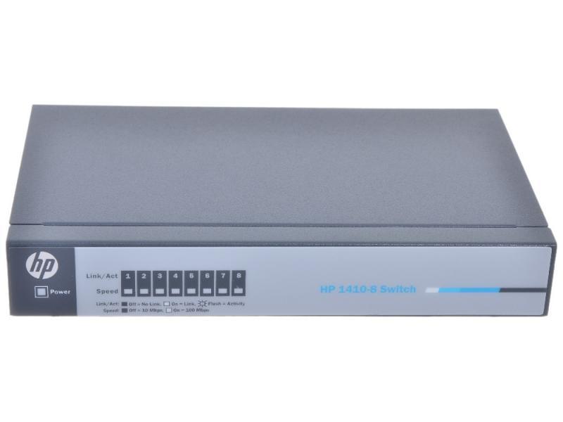 Switch HP 1410 8 porturi FastEthernet porturi Layer 2 unmanaged