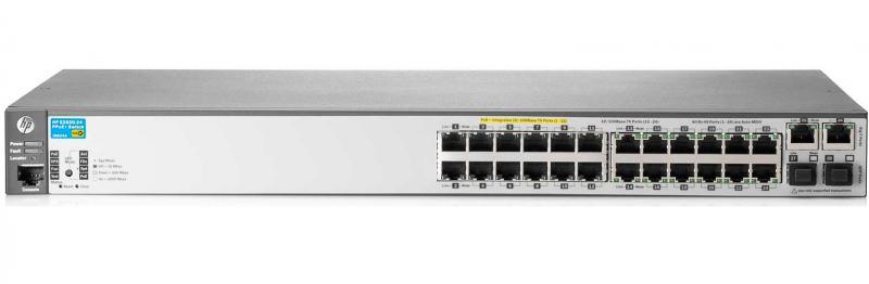 Switch HP 2620 24 porturi FastEthernet 2 porturi combo rackabil
