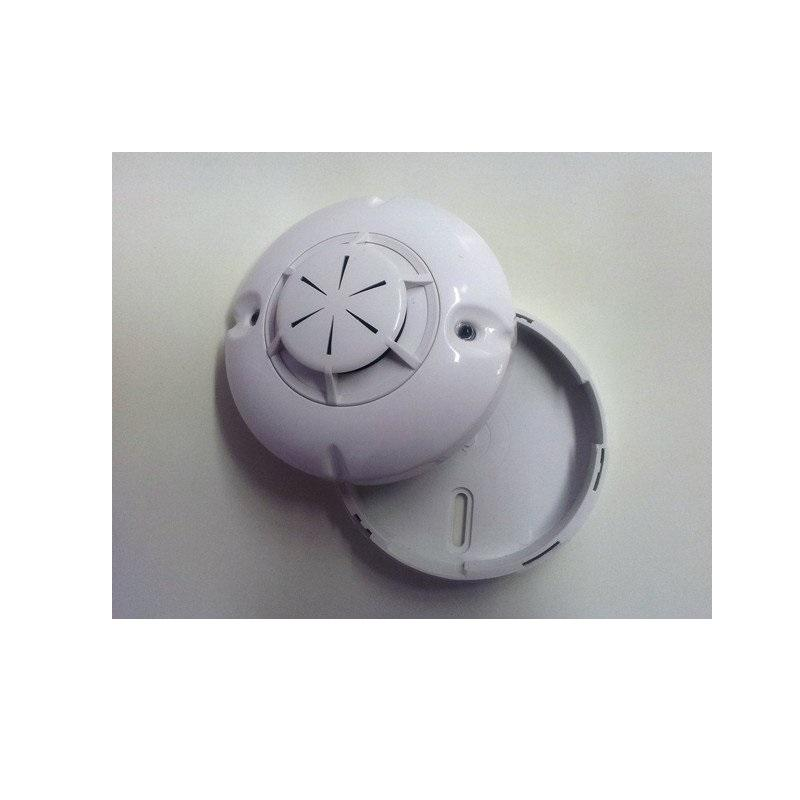Wireless rate of rise heat detector (base and battery included)