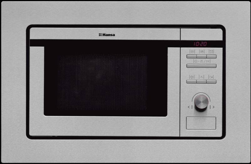 Cuptor cu microunde incorporabil Hansa AMM20BEIH, 800W, 8 autop