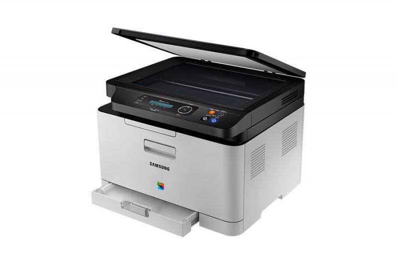 Multifunctional laser color cu fax Samsung SL-C480W/SEE, Dimens
