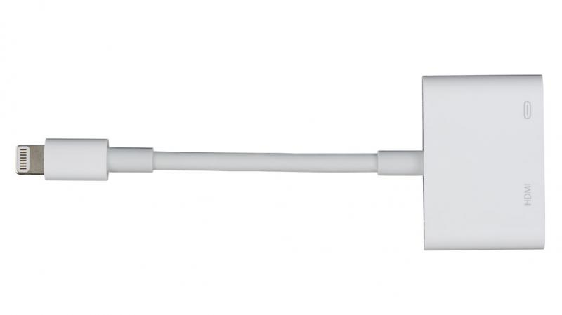 Adaptor Apple Lightning la Digital AV, compatibil iPhone5, iPod