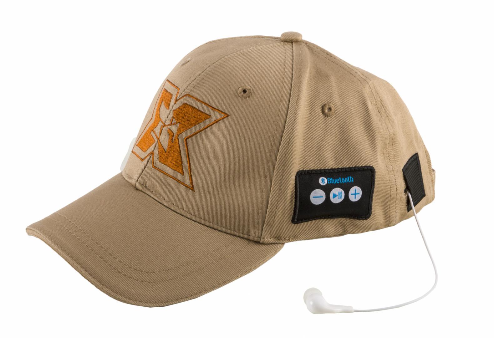 Sapca sport cu casti handsfree Bluetooth Serioux, butoane de co