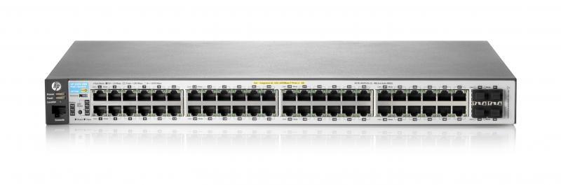 Switch HP 2530 48 porturi Gigabit 4 porturi SFP rackabil Layer