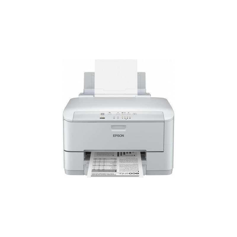 Imprimanta inkjet mono Epson WP-M4015DN, dimensiune A4, duplex,
