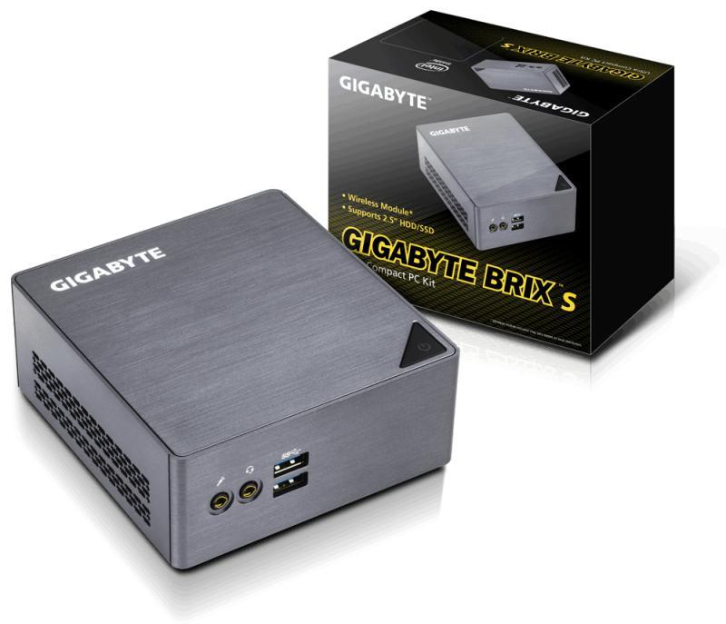 Intel mini pc Barebone Gigabyte GB-BSCEH-3955, Intel® Celeron 3